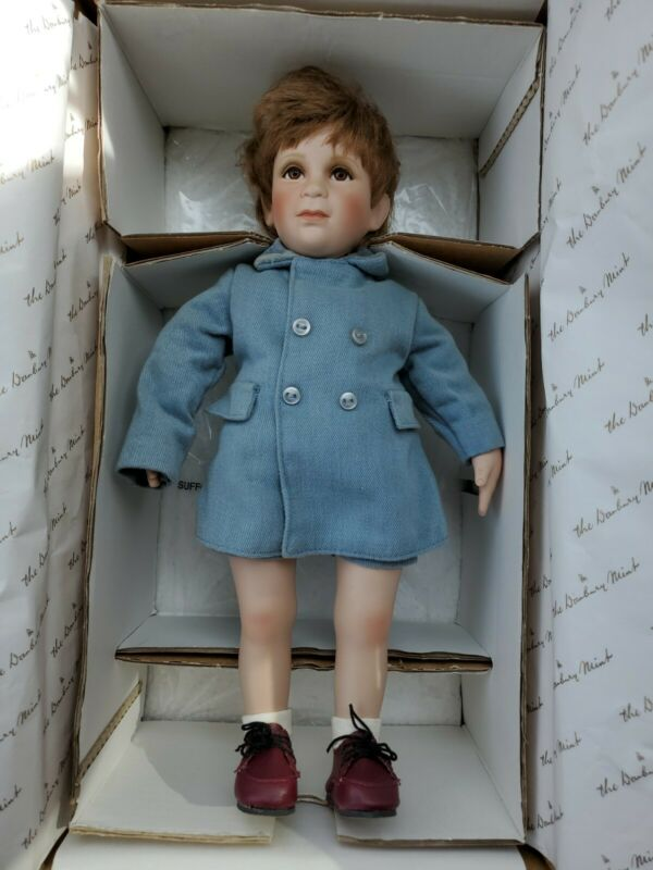 "Danbury Mint ""A Farewell Salute"" The John-John Porcelain Doll Collection"