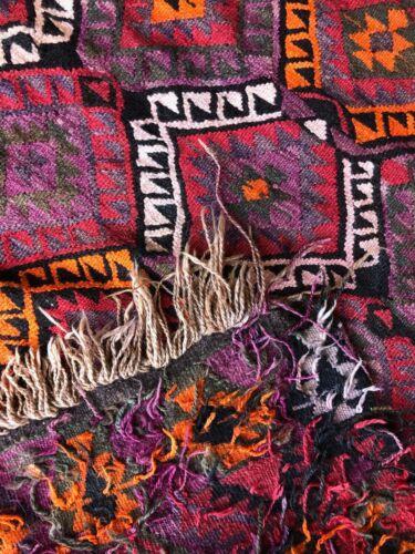 Modern Colorful Handmade Kilim Rug- 4′8