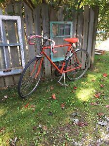 Old vintage 10speed road bike