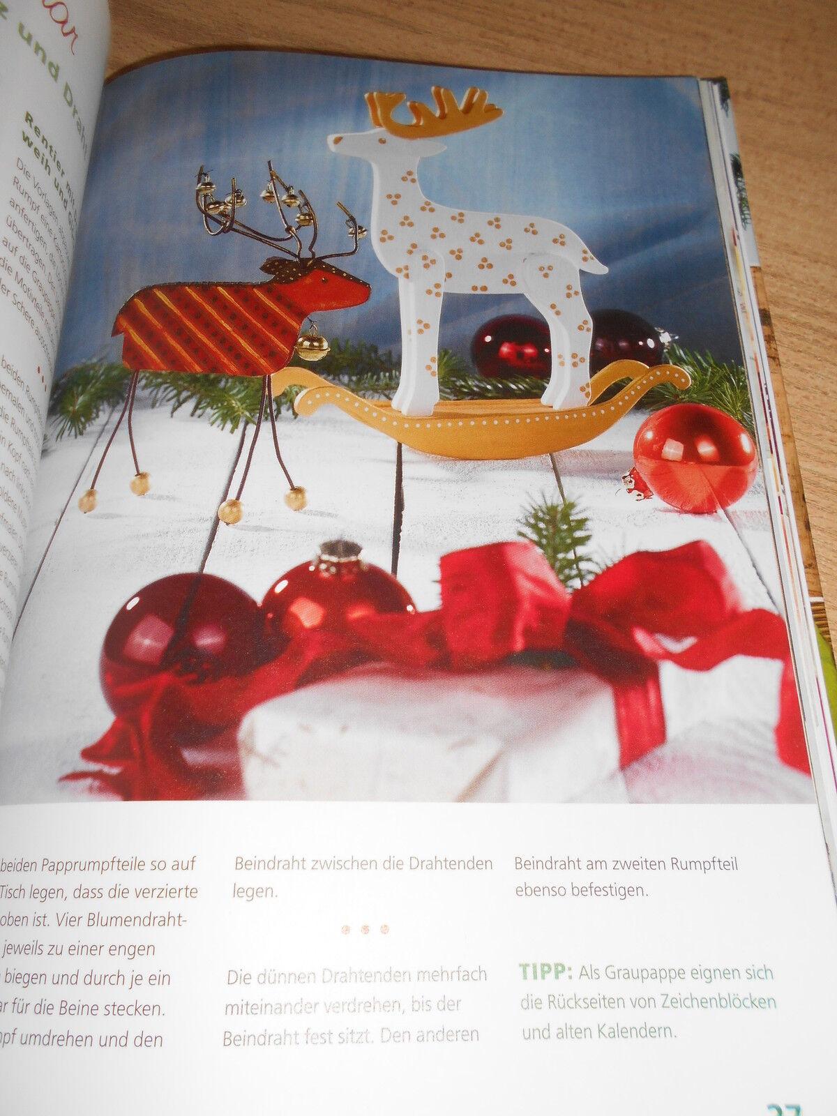 bastelbuch weihnachtsdekoration weihnachten basteln. Black Bedroom Furniture Sets. Home Design Ideas