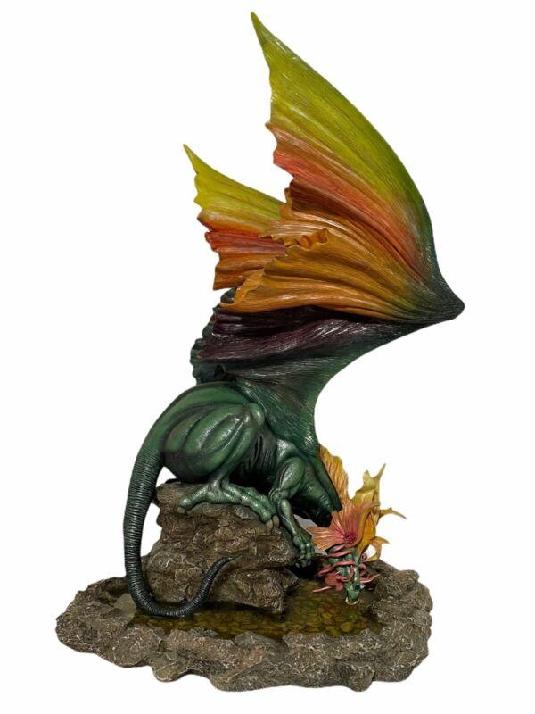 Julie Bell Vansal Dragon Sculpture 71 The Dragonsite Fantasy Statue Imaginistix