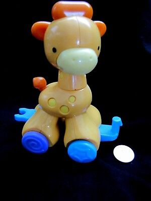 Fisher Price GIRAFFE Replacement Part 4 AMAZING ANIMALS PRESS & GO ANIMAL PARADE