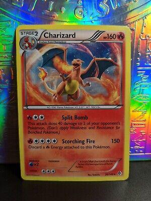 Pokemon Charizard 20//149 Alternate Holo Base Set 2 Englisch NM//Mint