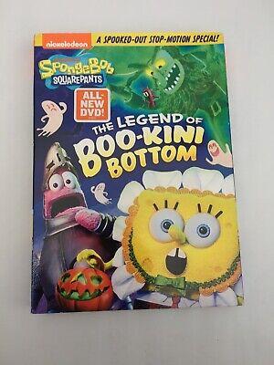 SpongeBob SquarePants: The Legend Of Boo-Kini Bottom [New DVD] Amaray Case, (Spongebob The Legend Of Boo Kini Bottom)