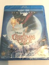 Disney's A Christmas Carol Blu-ray / DVD (Jim Carrey 2009) NEW **FREE SHIPPING** | eBay