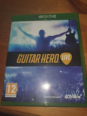 Xbox One Guitar Hero Game Only
