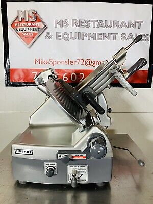 Hobart 2912 Automatic 6-speed 12 Meat Cheese Deli Slicer W New Sharpener