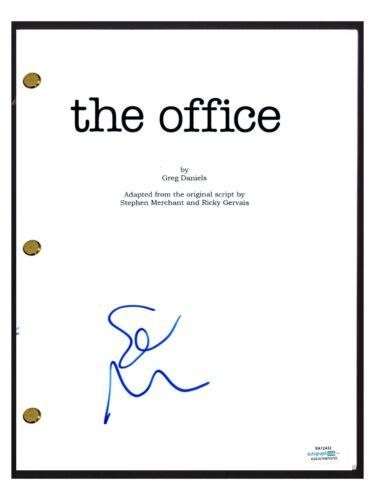 Stephen Merchant Signed Autographed THE OFFICE Pilot Script Creator ACOA COA