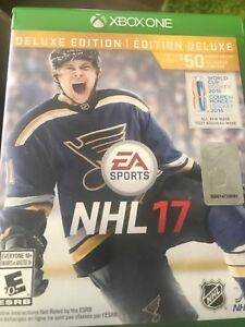 Jeu Xbox one NHL 17 15$