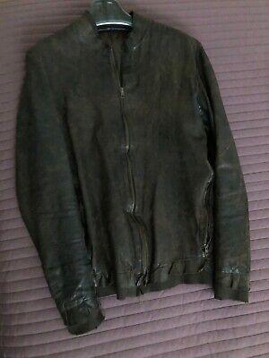 Salvatore Santoro Brown Lather Jacket