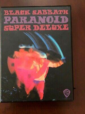 Black Sabbath Paranoid Super Deluxe 4  cd Box Set