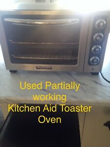 Partially working Kitchen Aid Toaster Oven