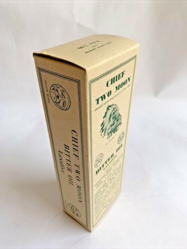 Chief Two Moon Bitter Oil Laxative, 1939, Unused Empty Box, Quack Medicine