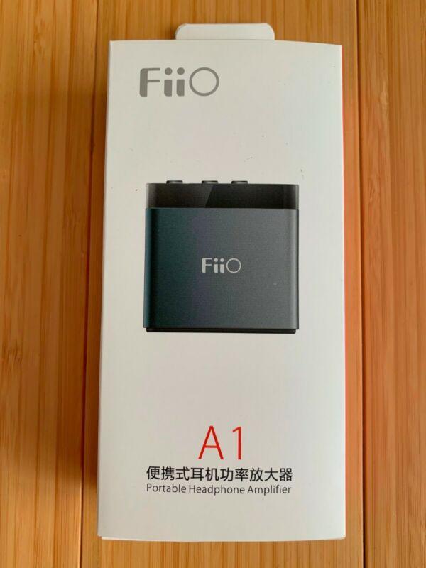FiiO A1 Silver Portable Headphone Amplifier (FA1121) *New In Box*
