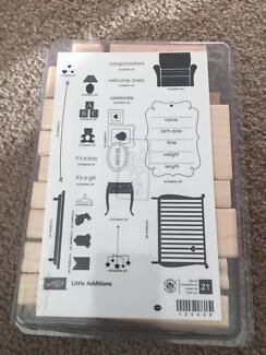 Stamping Up Little Additions Wooden Stamp Set Cammeray North Sydney Area Preview