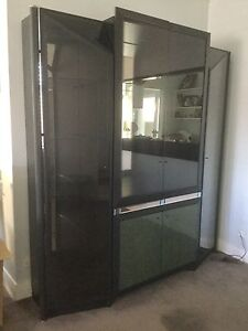 Cabinet, display, wall unit, glass Clontarf Manly Area Preview