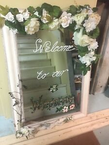 Welcome to Our Wedding - Mirror