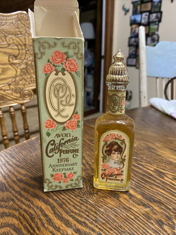 Vintage 1976 Avon California Perfume Keepsake COTILLION Cologne