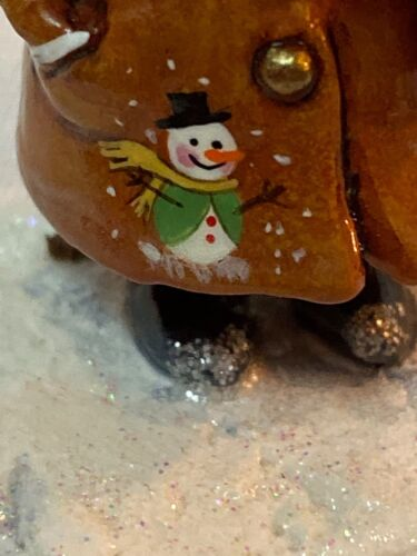 Wee Forest Folk Special Color  Squire of Micester with Snowman