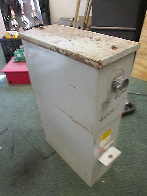 Fpe Cornell Dubilier Power Capacitor Icc1035f33 480v 35kvar 3ph 60hz Used
