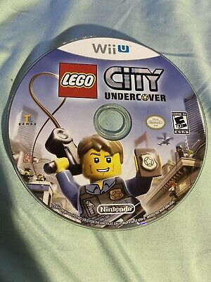 LEGO City Undercover (Nintendo Wii U, 2013) Disc Only