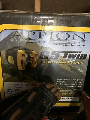 Appion G5 Twin Cylinder Refrigerant Recovery Unitnew In Box Free Shipping