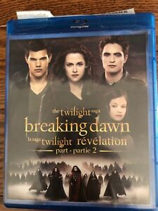 Twilight Breaking Dawn Blu Ray