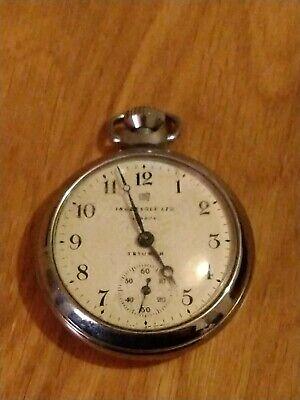 Ingersoll Triumph Pocket Watch war survivor