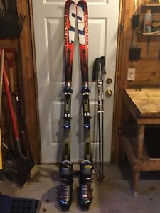 Skis and Boots and Poles