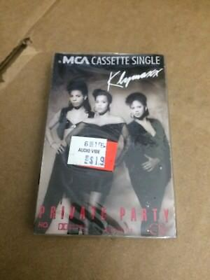 KLYMAXX PRIVATE PARTY FACTORY SEALED CASSETTE SINGLE C23](Party Factory)