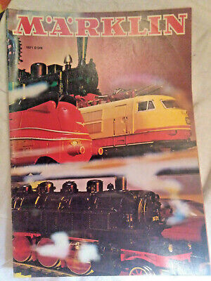 Modellbau-Eisenbahn: Märklin - Katalog 1971 D