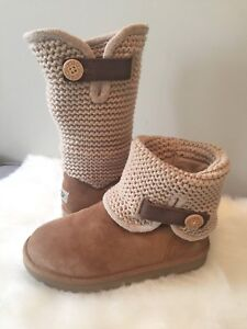 UGG Boots-Sz 7- UGG Beige Suede Sweater Boot