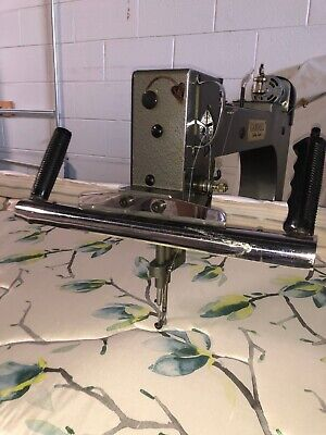 Industrial Quilting Machine Foot Print 14 X 4 Excellent Working Condition