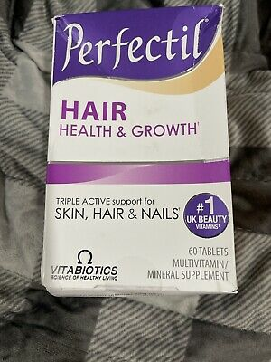 Perfectil Hair Health & Growth Multivitamin & Mineral Supplement 60 Tablets B5