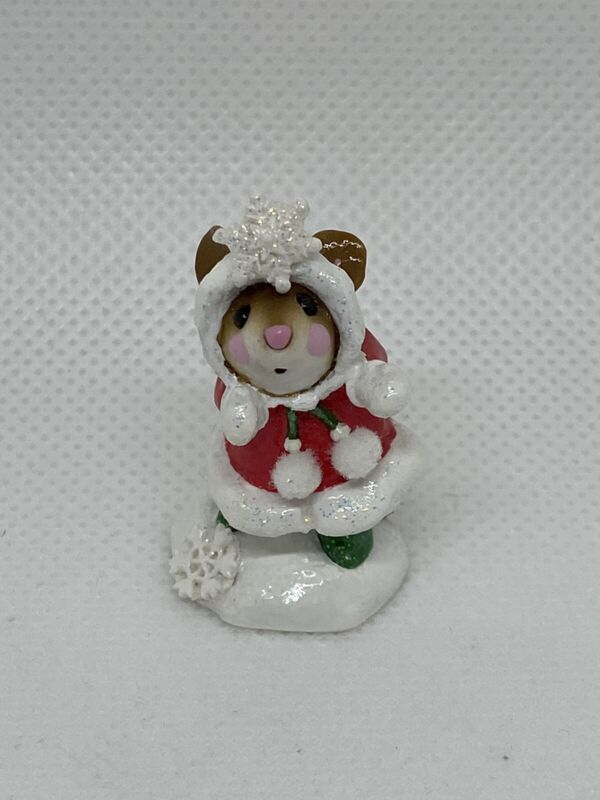 Wee Forest Folk Crystal Christmas Red Annette Peterson 2003