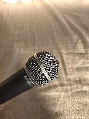 Used Shure SM58 Dynamic Microphone Studio Live Performer