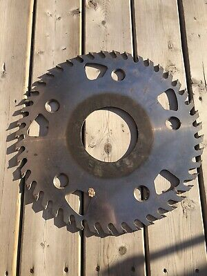 Large Thick Sawmill 18.5 Circular Saw Blade Used Solid