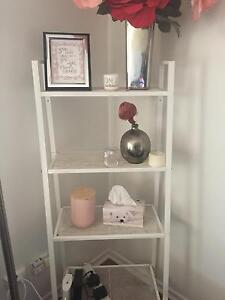 IKEA metal white shelves New Farm Brisbane North East Preview