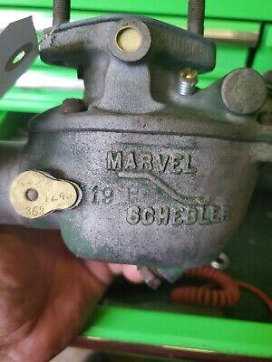 Carburetor Tsx-363 Oliver Tractors 66hc77hcsuper66660marvel Schebler
