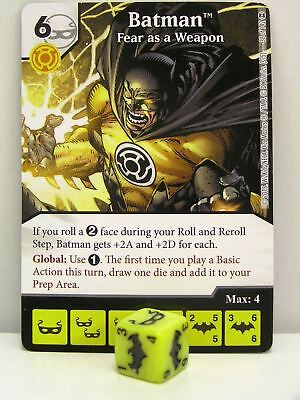 DC Dice Masters #099 Scarecrow Fear Gas War of Light