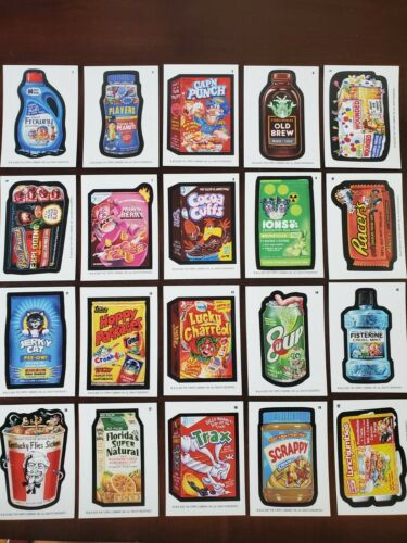 2020 Topps Wacky Packages August Complete Base Set All 20 Cards NM-MINT