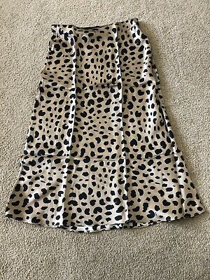 New Realisation Naomi Wild Things Leopard Skirt * Large L * Fast Ship