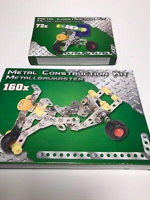 2 Metallbaukästen Metall Baukasten Construction Kit Trike