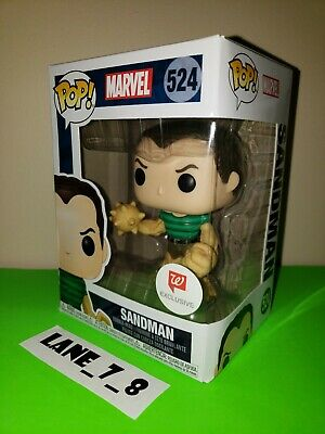 Funko Pop! Sandman #524 Spider-Man Walgreens Exclusive New