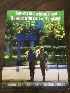 Success In Prehealth and Beyond with Critical Thinking