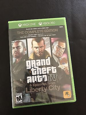 Xbox One 1 Or 360 Grand Theft Auto Iv 4 Complete Edition New Sealed Region Free