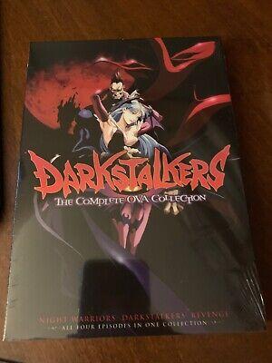 Darkstalkers OVA DVD Discotek Official Release