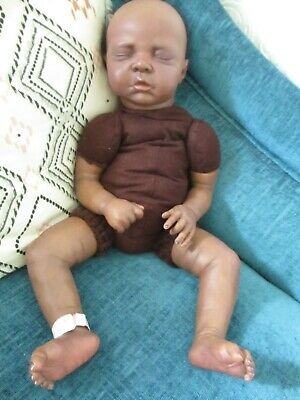 """Reborn Doll """"Ethnic"""" 21 Inches With Clothes PLEASE READ FULL LISTING"""