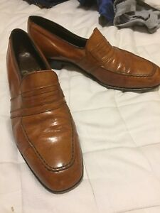 Vintage Dacks leather shoes see pics blk and brown