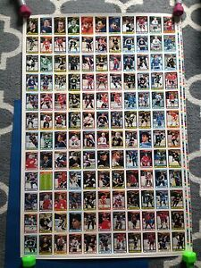 1990/91 O-Pee-Chee OPC Hockey Uncut Sheets Complete Set Stratford Kitchener Area image 6